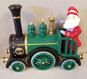 1999 Jolly Locomotive *Colorway Hallmark Keepsake Ornament 1495CQX685-9