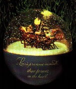 1986 Christmas Sleigh Ride *Magic  Hallmark Keepsake Ornament QLX7012-2