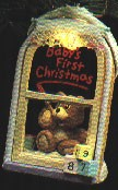 1987 Baby's 1st Christmas *Magic Hallmark Keepsake Ornament QLX7049