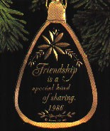 1986 Sharing Friendship *Magic (NB) Hallmark Keepsake Ornament QLX7063-2