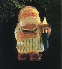 1986 Santa's Snack *Magic (NB) Hallmark Keepsake Ornament QLX7066-2