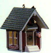 1985 Little Red Schoolhouse *Magic (SDB) Hallmark Keepsake Ornament QLX7112