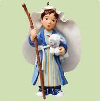 2004 Sweetest Little Shepherd  *Magic Hallmark Keepsake Ornament QLX7634