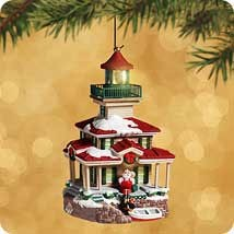 2002 Lighthouse Greetings 6th *Magic Hallmark Keepsake Ornament QLX7646
