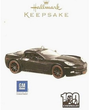 2011 Chevrolet Corvette 100th Anniversary Hallmark Keepsake Ornament QXI2349