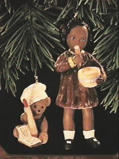 1997 All God's Children - Nikki 2nd Hallmark Keepsake Ornament 1295QX614-2