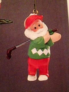 1989 On The Links Golf (NB) Hallmark Keepsake Ornament QX4192-2