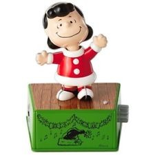2017 Peanuts Christmas Dance Party...Lucy Hallmark Keepsake Ornament XKT1803