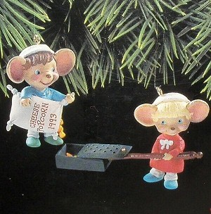 1993 Popping Good Times  Hallmark Keepsake Ornament 1475QX539-2
