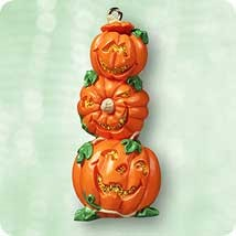 2003 Stack O Lanterns *Halloween Hallmark Keepsake Ornament QFO6049