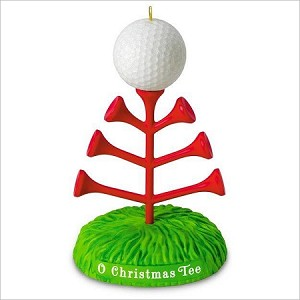 2016 O Christmas Tee Golf Hallmark Keepsake Ornament QGO1401