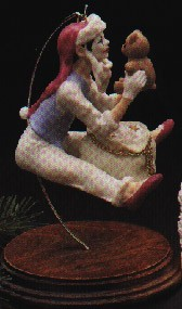 1987 Christmas Time Mime Ltd. Ed. (NB) Hallmark Keepsake Ornament 2750QX4429-2