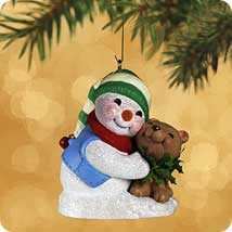 2002 Snow Buddies 5th Hallmark Keepsake Ornament 795QX800-3