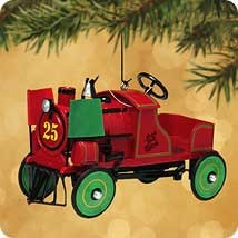 2002 Kiddie Car Classic 9th 1928 Jingle Bell Express  (NB) Hallmark Keepsake Ornament 1395QX807-6-2
