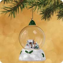 2002 Winter Wonderland 1st Bringing Home The Tree   Hallmark Keepsake Ornament 1295QX818-6
