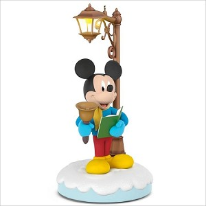 2018 Disney Christmas Carolers Storytellers set/3 *Ltd Qty *Power Cord Hallmark Keepsake Ornament QXD6406