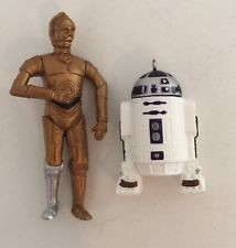 1997 Star Wars C-3Po & R2-D2 set/2 *Miniature Hallmark Keepsake Ornament 1295QXI426-5