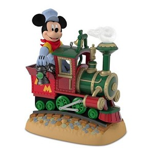 2017 Mickey's Magical Railroad *Magic *Repaint Hallmark Keepsake Ornament QXD6155-2