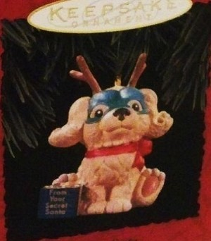 1994 Secret Santa Hallmark Keepsake Ornament QX5736