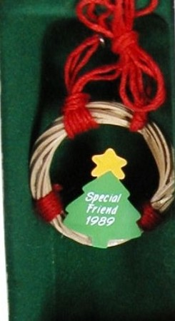 1989 Special Friends *Miniature (NB) Hallmark Keepsake Ornament 450QXM565-2-2