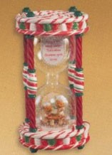2005 Season's Sweet Delight Snow Globe *Club Event Display (NO WATER) Hallmark Keepsake Ornament QXC5014
