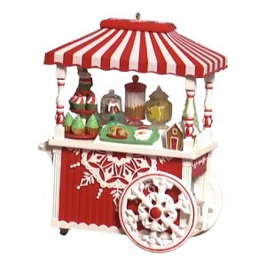 2018 Sweet Treat Cart *In-Store Signing Event Piece Hallmark Keepsake Ornament 2018sweettreatcart