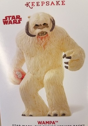 2014 Star Wars Wampa SDCC/NYCC Comic Con Exclusive (VSDB) Hallmark Keepsake Ornament QMP4089