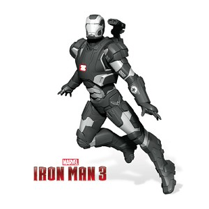 2014 War Machine Iron Man SDCC/NYCC Comic Con Exclusive  Hallmark Keepsake Ornament QMP4088